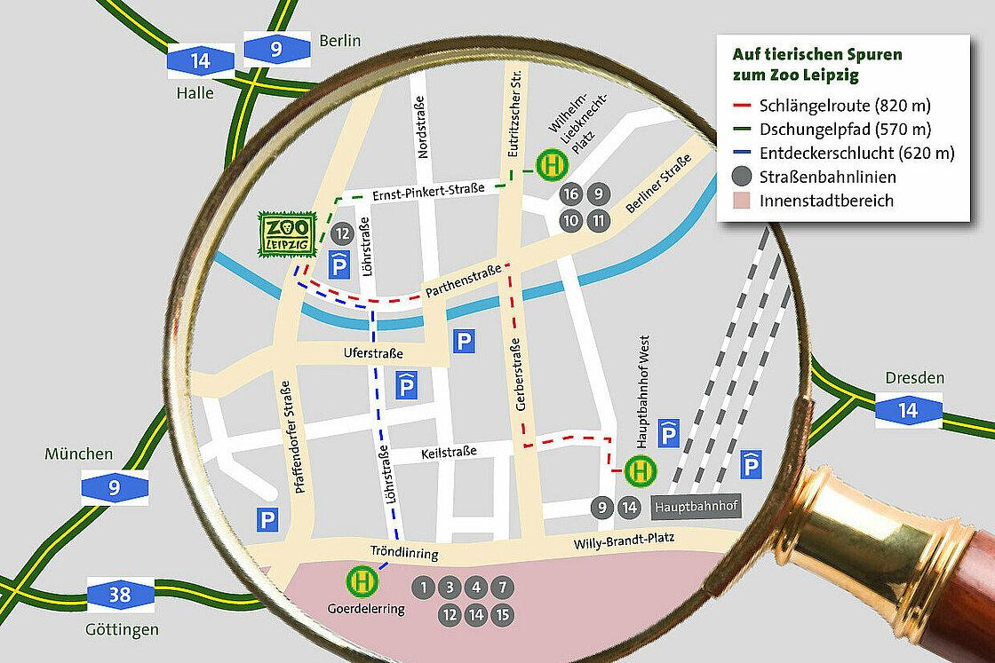 Directions Zoo Leipzig